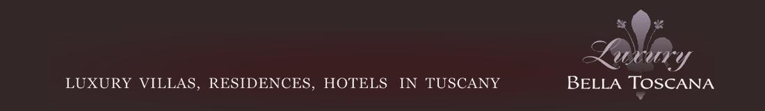 Luksusowe wille z basenem i hotele w Toskanii – Toskania